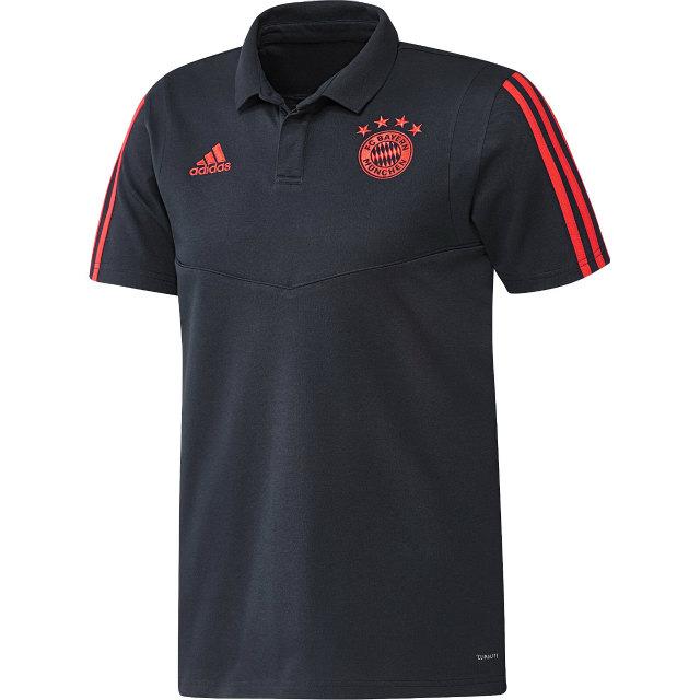adidas バイエルン ミュンヘン 2019/20 UEFA CL トレーニング ポロシャツ Navy