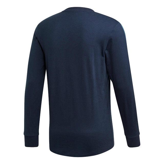 adidas バイエルン ミュンヘン 2019/20 ロングスリーブ Tシャツ Navy