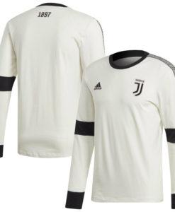 adidas ユベントス 2019/20 ロングスリーブ Tシャツ White