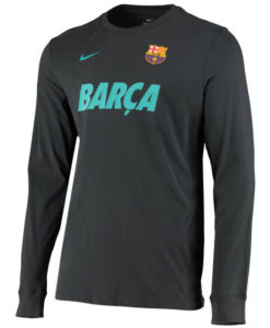 NIKE FCバルセロナ 2019/20 ロングスリーブ Tシャツ