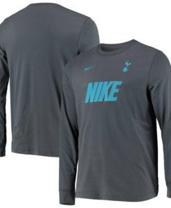 NIKE トッテナム ホットスパー 2019/20 ロングスリーブ Tシャツ Grey