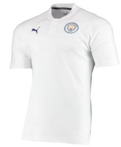 PUMA マンチェスターシティ 2019/20 カジュアル ポロシャツ White