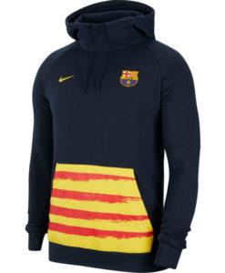 NIKE FCバルセロナ 2019/20 フリース パーカー
