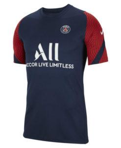 NIKE パリ サンジェルマン 2020/21 トレーニング Tシャツ Navy
