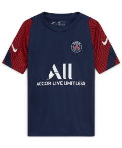 NIKE パリ サンジェルマン Kids 2020/21 トレーニング Tシャツ Navy