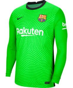 NIKE FCバルセロナ 2020/21 ホーム ゴールキーパー シャツ