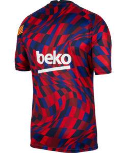 NIKE FCバルセロナ 2020/21 トレーニング トップ Red