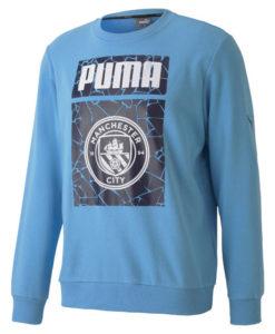 PUMA マンチェスターシティ 2020/21 フットボール グラフィック スウェット トップ Blue