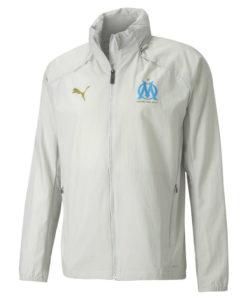 PUMA マルセイユ 2020/21 レイン ジャケット Grey