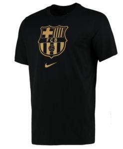 NIKE FCバルセロナ 2020/21 エンブレム Tシャツ Black