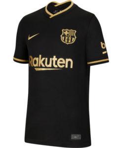 NIKE FCバルセロナ Kids 2020/21 アウェイ スタジアム シャツ