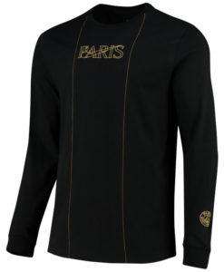 NIKE パリ サンジェルマン 2020/21 50周年限定 ロングスリーブ TシャツBlack