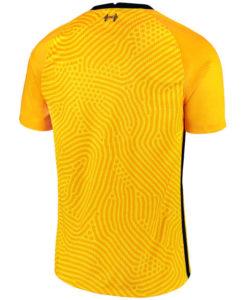NIKE リバプール 2020/21 ゴールキーパー スタジアム シャツ Yellow