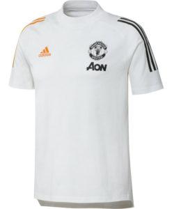 adidas マンチェスターユナイテッド 2020/21 トレーニング Tシャツ White