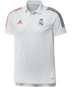 adidas レアルマドリード 2020/21 トレーニング ポロシャツ White