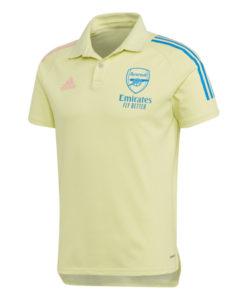 adidas アーセナル 2020/21 トレーニング ポロシャツ Yellow